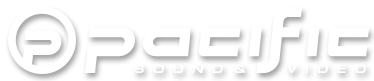 Pacific Sound & Video: Your Local North Dakota Audio Video Experts. Logo